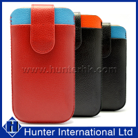 Genuine Leather Sleeve Bag For Samsung Note2