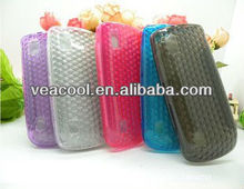 Diamond pattern TPU Silicone cell phone case for Nokia Asha 300/3000
