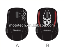 hottest sale ! 2.4G custom wireless usb mouse (Ergonomically designed, comfort grip)