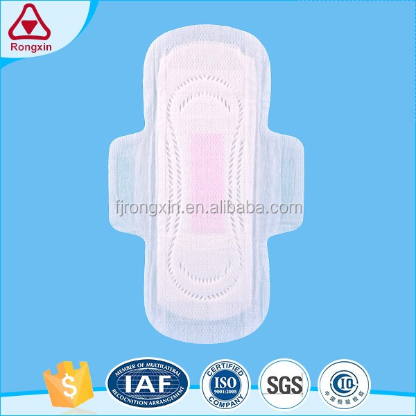 Organic cotton tampon sanitary pad women sanitary napkin towel supplier