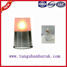 hotel supplies 45hrs burning time paraffin oil table lamp for restaurants