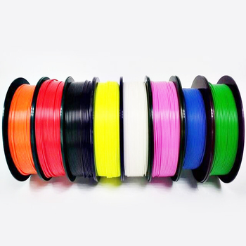Dongguan YASIN factory direct 3d printer filament, Multi Colors plastic PLA ABS TPE TPU Flexible filaments 1.75mm
