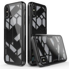 Geometric figure for iphone x case tpu+pc material unique design protective case for iphone x