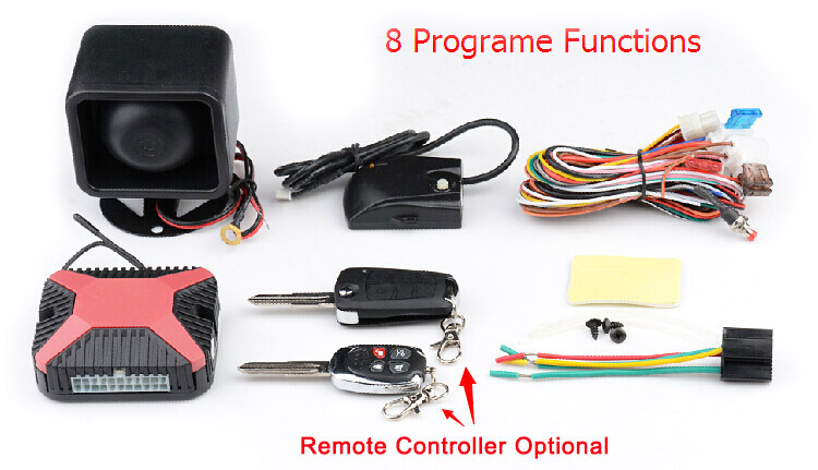 Design Patent factory price one way car alarm system with original remote controller