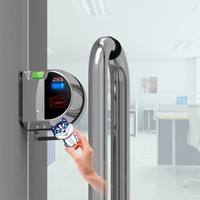 2015 SMART GLASS DOOR LOCK ZKS-M1 (The Unique World First SGDL) Manufactured By ZKS-The Leading Global Brand