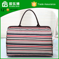OEM Material Stripe Travel Bags Companies Names of Bag