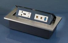 office Furniture conference Table Socket power plug box