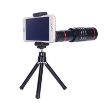 Professional multi-functional mobile clip lens clip-on 18X camera android zoom lens for smartphone
