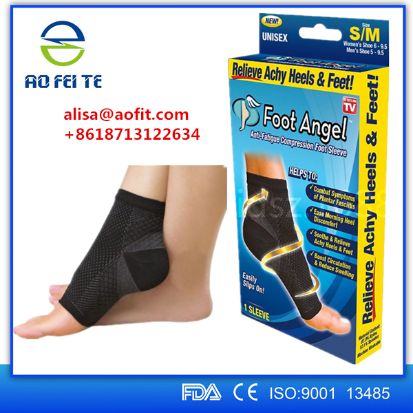Aofeite Wholesale Sports Compression Socks, Knee High Compression Stockings