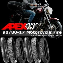 90/80-17 Motorcycle Tire