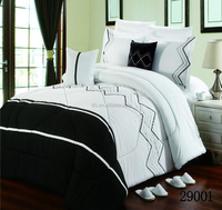8 pcs embroidery design wholesale luxury bedding set comforter set