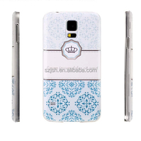 UV full color printing mobile back cover,hotselling case for samsung galaxy s5