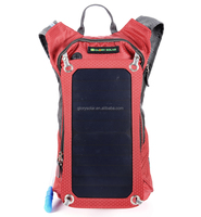 Outdoor Cycling Solar Charging Bag With Drinking Water Bag