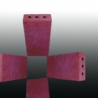 12# Clay hollow high refractoriness used red paving bricks