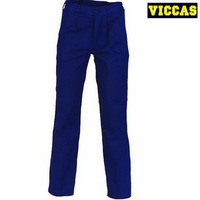 100% Cotton Blue Wear Pants Work Trousers