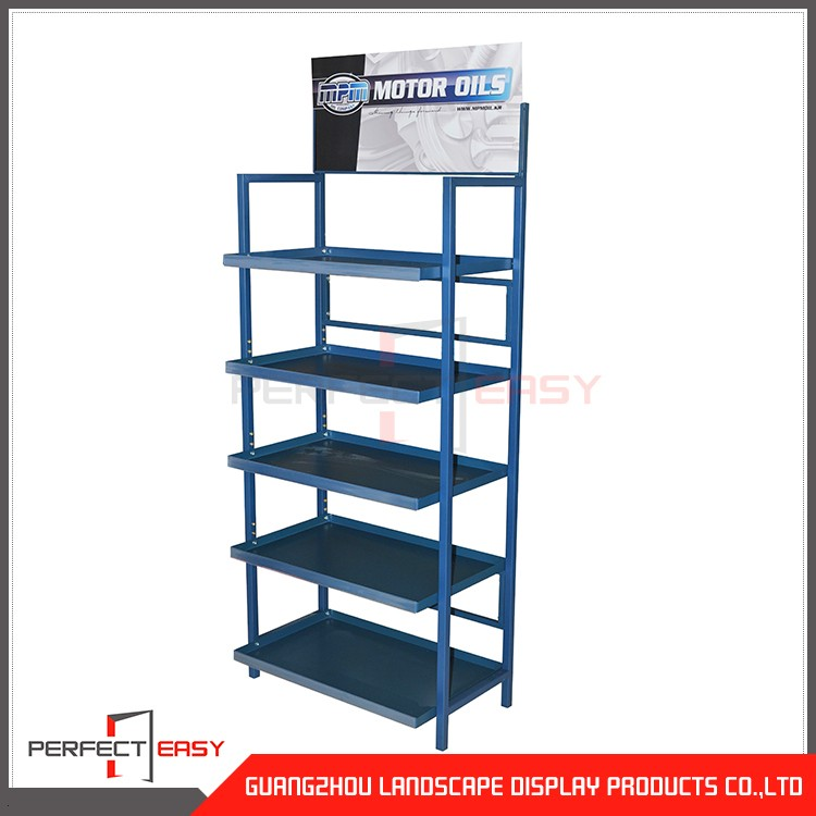 autoparts display rack for car accessories shop
