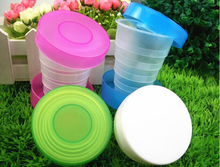 Collapsible travel water bottle wholesale, Cheap plastic foldable water bottle