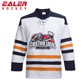 Team Custom Name/Number Red Sublimation Ice Hockey Jersey For Fans