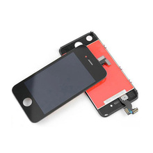 For iPhone 4S LCD Display Touch Screen Digitizer Assembly Replacement + Tools + screws ,Black or White