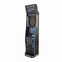 Coin operated dart machine online /electronic dart machine for sale/deluxe arcade dart machine,soft tip dartboard