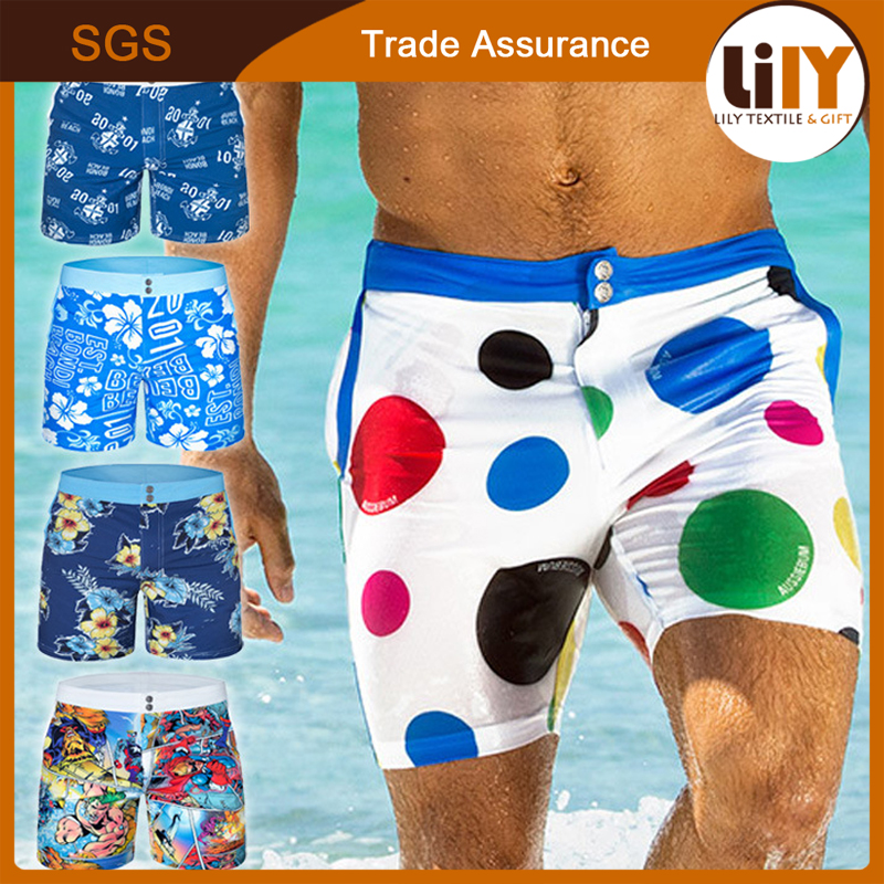 2017 New Mens Summer Quick-dry Beach Fifth Pants Short
