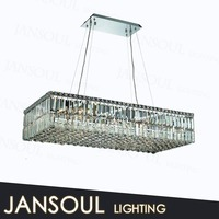 zhongshan jansoul lighting factory wholesale vintage european style crystal stained glass pendant lamp
