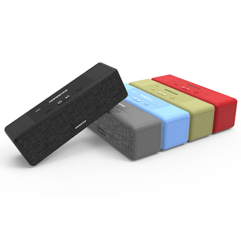 Hopestar series A5 fabric stereo sound rohs plastic cabinaet bluetooth speaker for mobile phone
