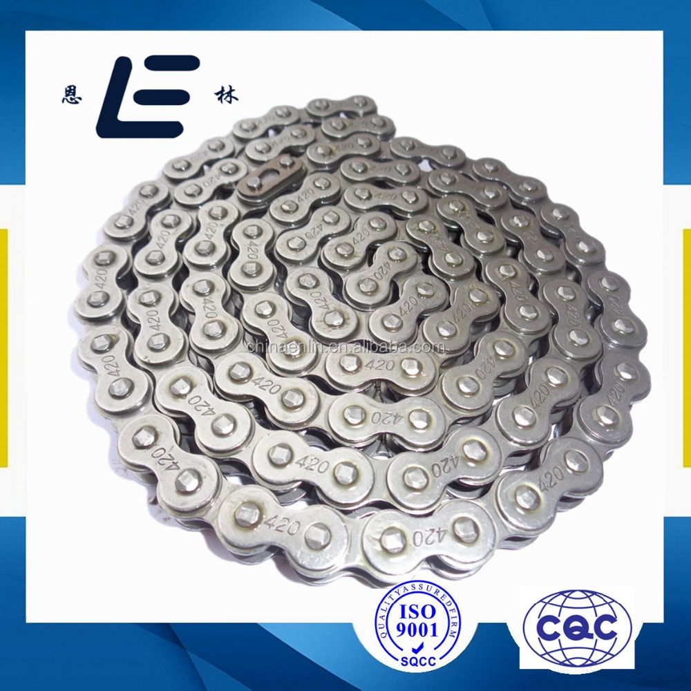 High Quality 70cc Drive Chain# 420 Links104 Motorcycle Chain And Sprocket Kits