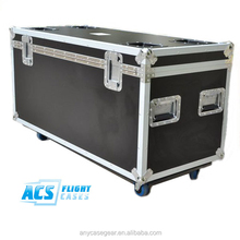 High quality utility flight case with wheel dishes and wheel board and flight case fitting flight case handle