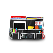 Hanging Storage Organizer Bag for Books, Phones, Tablets, Accessory and TV Remote