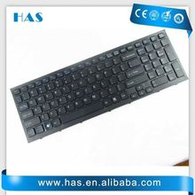 Hot selling Laptop keyboard for SONY PCG-71211M Russian Black with frame