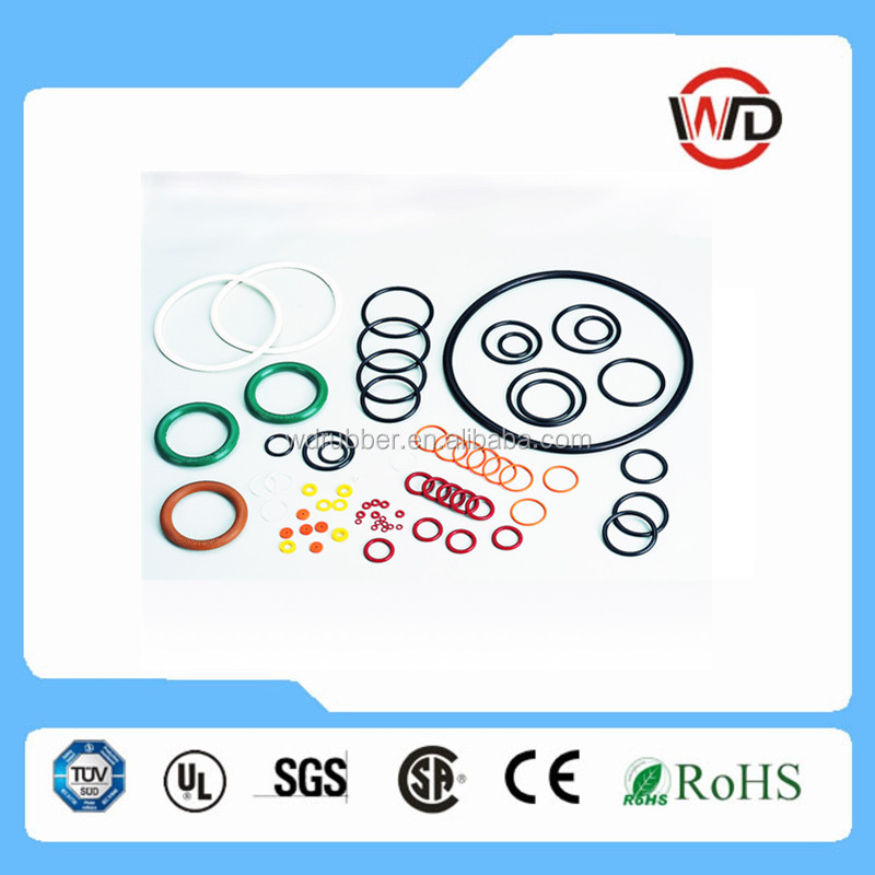 Ningbo high quality different size different color viton O ring,EPDM O ring,NBR O ring manufacturer