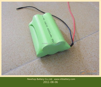 Cheap price ni-mh rechargeable battery aaa 4.8v 700mah for solar light