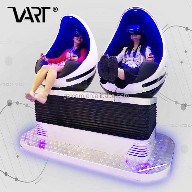360 Degree Cinema System N 9D Cine Virtual Reality Chair With 2 Seat 9D VR Cinema In Dubai Cinema For VR Game Center