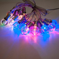 Color Changing Red/Yellow/Blue/Green LED Solar Christmas Lights String Lamp Holiday Lights