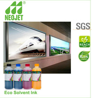 outdoor ink eco pigment eco solvent based ink for xaar 128 126 eco solvent printer
