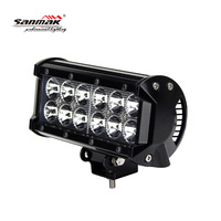 "36W CREE LED light bar 4X4 off road ATV UTV 6.5"" driving flood lamp"