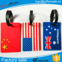 travelling bags accessories/pvc luggage cover/mini rubber luggage tag