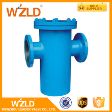 WZLD Alibaba China Marine Water ANSI Standard Cast Iron & Ductile Iron Flanged Basket Strainer