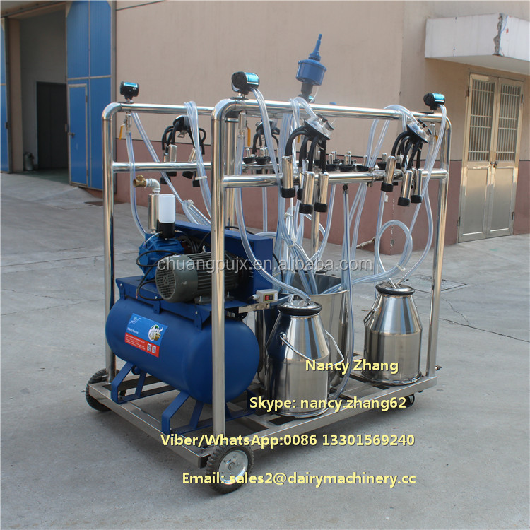 Small Automatic Cow Milking Parlor Machine