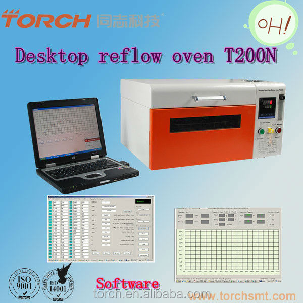 Desktop SMT/SMD reflow oven /lead-free solder oven made in China