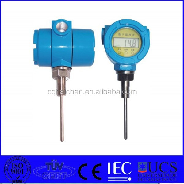 k type rtd temperature transmitter with led display
