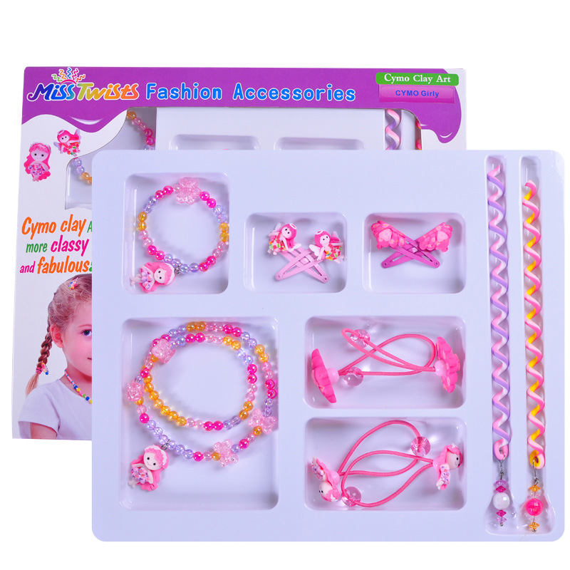 Chinese Wholesale Traditional Girls Angel Hair Accessories Set
