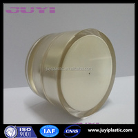 Skin Care Cream Use And Acrylic Plastic Type Gold Cosmetic Cream Jar Container