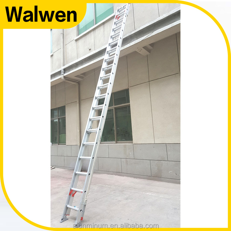 China rope use en131 support extension ladder stand aluminum tree ladder tree stand