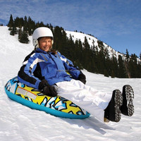 Phthalate-free PVC Snow Tube - Air Tube 39 Inch Inflatable Snow tube snow sled