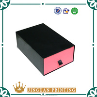 Luxury paper packaging custom printing high quality shopping gift box slide