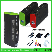 2016 high end CE FCC RoHS certifcation car accessories emergency portable 13800mAh powerbank jump starter
