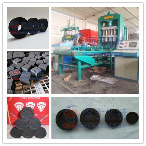 Outstanding features and factory direct press bamboo charcoal making machine