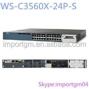 Catalyst 3560X 24 Port PoE Switch WS-C3560X-24P-S